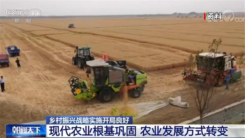 农业农村部:乡村振兴战略实施开局良好