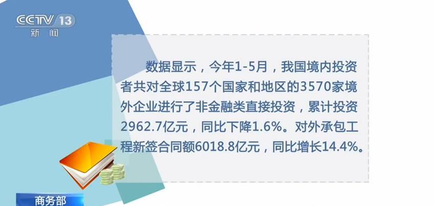 商务部最新数据 我国对外承包工程数量明显增加