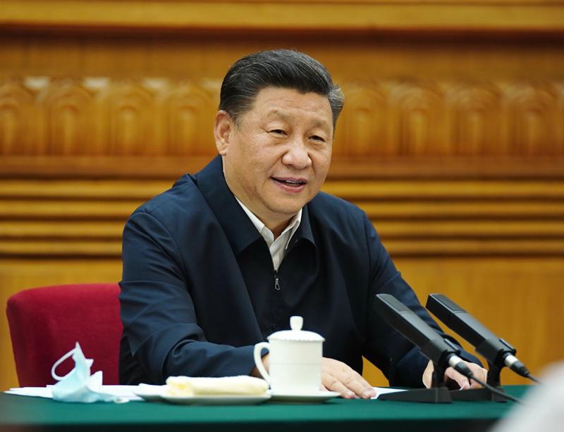 7月21日,中共中央总书记、国家主席、中央军委主席习大大在京主持召开企业家座谈会并发表重要讲话。新华社记者 鞠鹏 摄