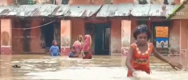 印度奥里萨邦洪灾 至少7人死亡