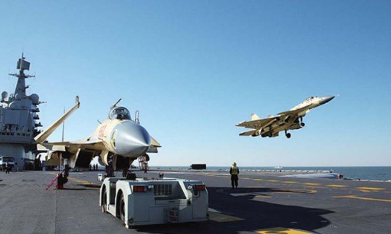 中國海軍正式進入航母時代