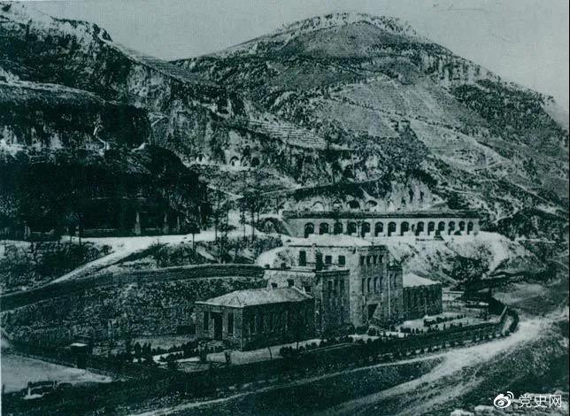 1944年5月21日,中共六届七中全会在延安召开。图为全会会址。