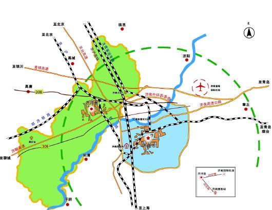 济南欧乐堡百度地图
