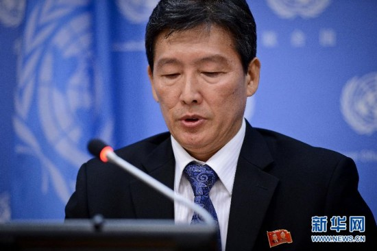 朝鲜代表在联合国指责美国激化朝鲜半岛紧张局势