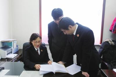 考入龙井市检察院