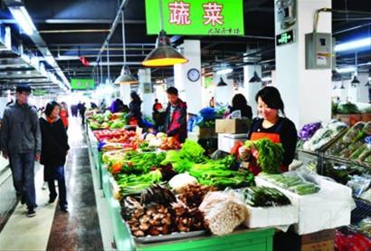 10月12日,记者来到沈阳市和平区天河家园小区附近的一家农贸市场.