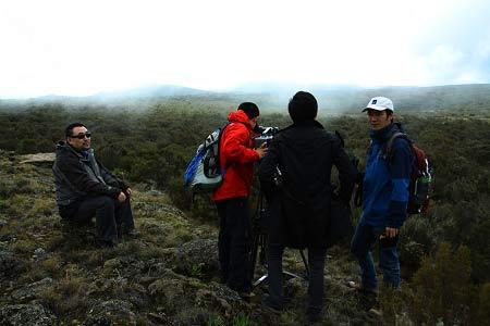 乞力马扎罗山3200米处拍