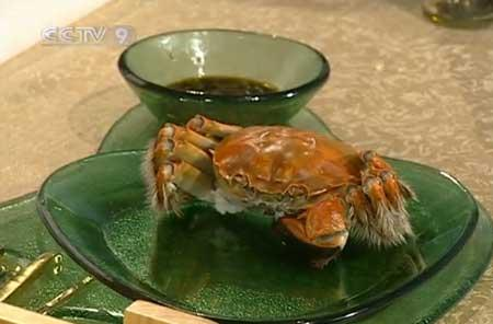 Steamed Yangcheng Lake Hairy Crabs