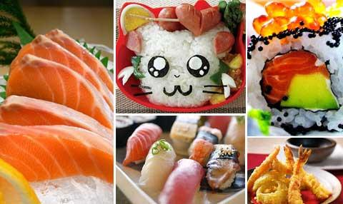 Japanese cuisine offers a very large variety of dishes and regional specialities.