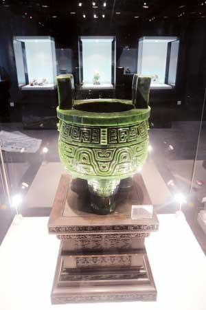 OneoftheexhibitsofChina'sfirstnational-levelmuseum