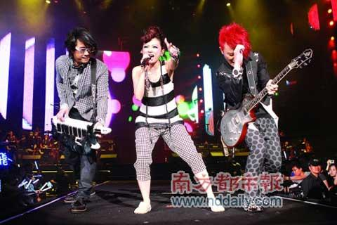 "Taiwan pop band F.I.R. kicked off their second world tour ""It's My Life"" on Monday."