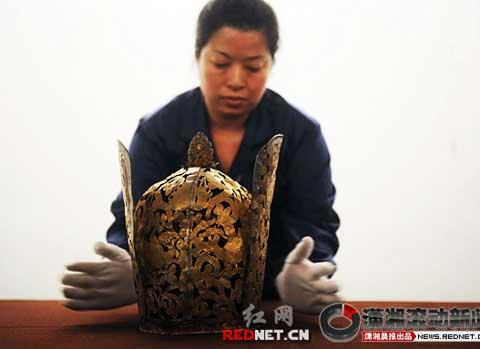To discover the mystery of the past, an exhibition has opened to the public in central Hunan province.