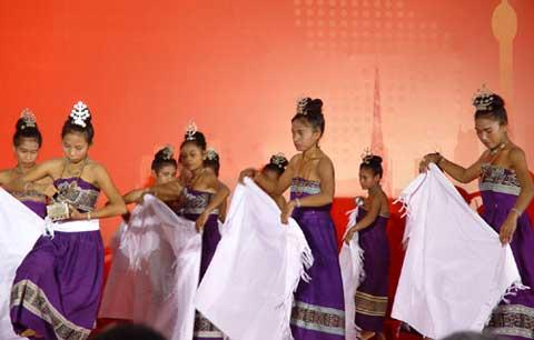 Making its first appearance at the World Expo in Shanghai, East Timor is celebrating its National Pavilion Day.
