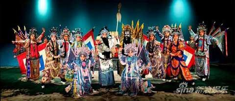 China's ancient patriotic hero Yue Fei is revived on stage through the classic tunes of Peking Opera.
