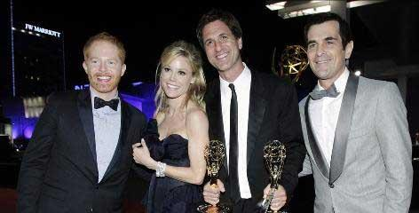 "Television show ""Modern Family"" won the best comedy series Emmy"