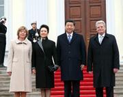 """Xi Jinping : les relations entre la Chine et l'Allemagne """" plus fortes que jamais"""""""