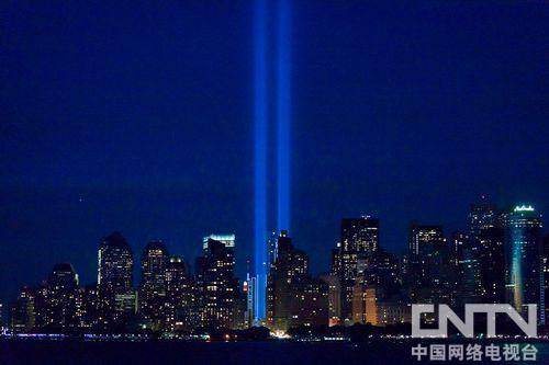 美国纪念911恐怖袭击遇难者