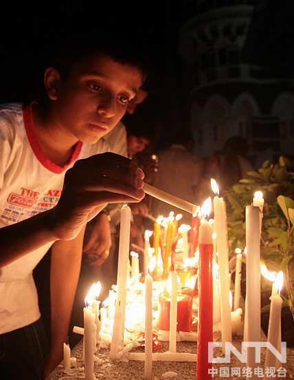 印度纪念孟买恐怖袭击事件