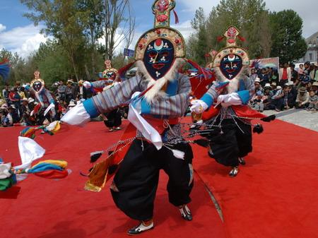 Tibetan opera is one of the most ancient operas in China.
