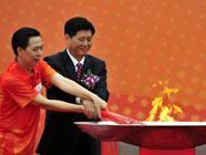 В Гуанчжоу стартовала эстафета огня Азиатских игр