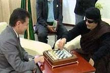 Gaddafi on Libyan TV pledges to defeat NATO