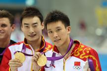 China wins men´s 3m synchronized springboard