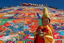 Tibetans gear up to celebrate Shoton Festival