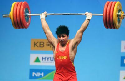 Olympic Champion Lu Yong Adds Gold For China At World Weightlifting Championships Cctv International