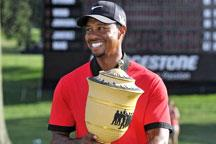 Tiger Woods romps to dominant win in Akron