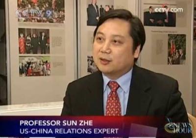 ProfessorSunZhe,fromtheCenterforUS-ChinaRelationsofTsinghuaUniversity