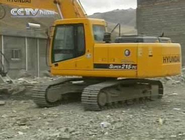 В Юйшу начаты строительные работы