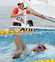 8月11日<br>《惊艳水立方——中国游泳队》<br>《扬帆海上——中国帆船帆板》