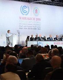 联合国气候变化马拉喀什会议