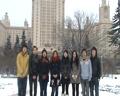 莫斯科大学黄婷等同学向祖国拜年