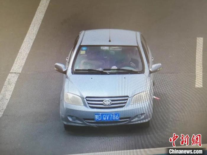 图为刘步明所驾驶车辆。警方供图