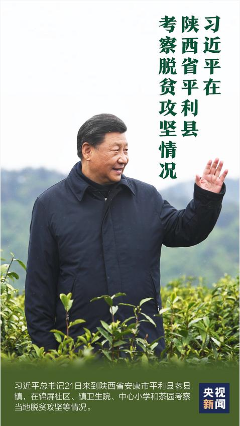 独家视频丨习近平在陕西省平利县考察脱贫攻坚情况