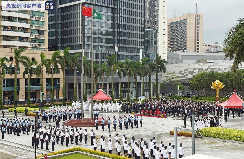 澳门特区政府将启动国旗、国徽本地法律的修改工作