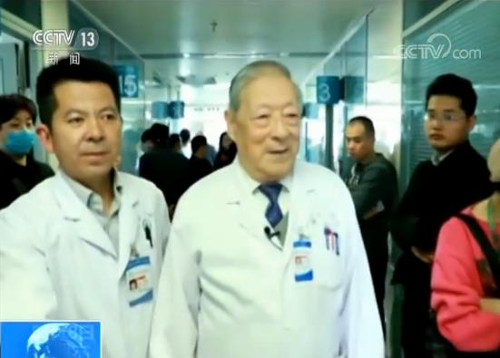 【爱国情 奋斗者】99岁高龄仍奋战在临床...