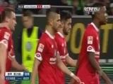 [德甲]第29轮:沃尔夫斯堡1-1美因茨 比赛集锦