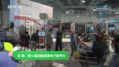 [新闻袋袋裤]美国:第53届国际消费电子展举行