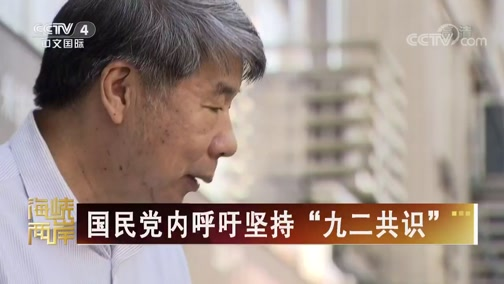 """[海峡两岸]国民党内呼吁坚持""""九二共识"""""""
