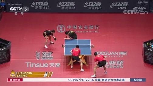[乒乓球]国乒公布名单 王楚钦入选男队大名单