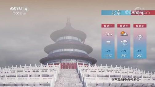 [今日环球]2020年2月12日天气预报
