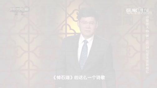 [百家讲坛]诗歌故人心(第二部)28 红萼无言耿相忆 范成大去世之后