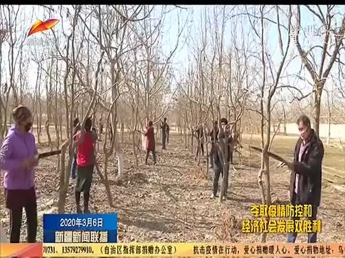 [新疆新闻联播]春耕一线 人勤春来早 林果扶贫不松劲