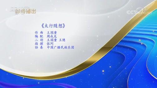 """《CCTV音乐厅》 20200408 """"漫步经典""""系列音乐会(28) """"乐咏中华""""民族音乐会(上)"""