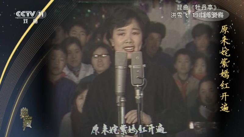 昆曲牡丹亭 演唱:洪雪�w 典藏