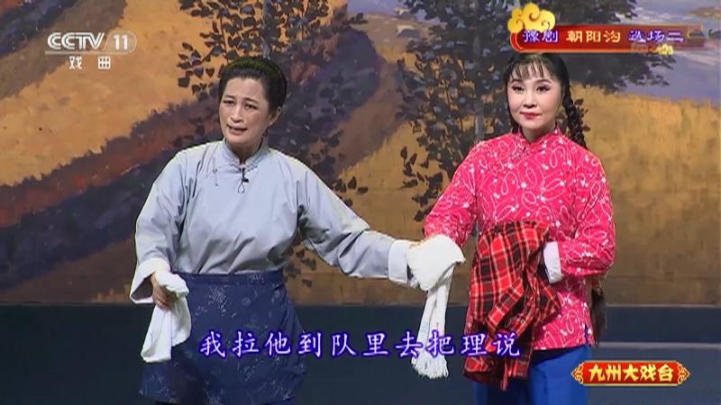 豫剧朝阳沟选场二 主演:杨红霞 盛红林 九州大戏台 20210514