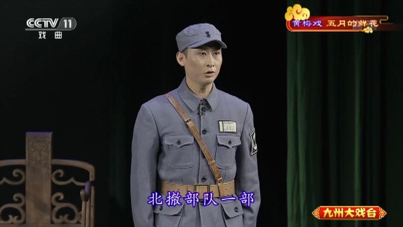 黄梅戏五月的鲜花 主演:蒋建国 袁媛 九州大戏台 20210523