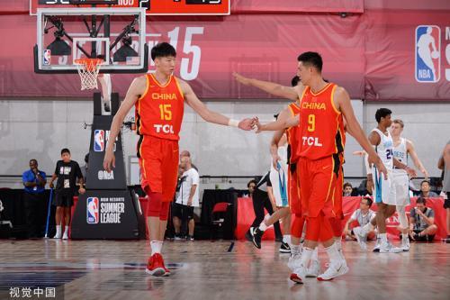 中国男篮展现实力 力克黄蜂取得NBA夏季联赛首胜